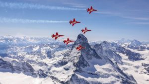 Patouille Suisse - Swiss Air Force