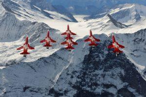 Patrouille Suisse - (c) DDPS