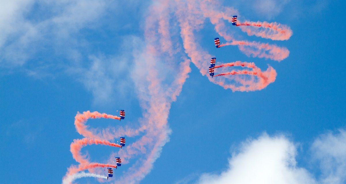 AIRSHOW NEWS: RAF Falcons Parachute Display Team Display Dates 2017