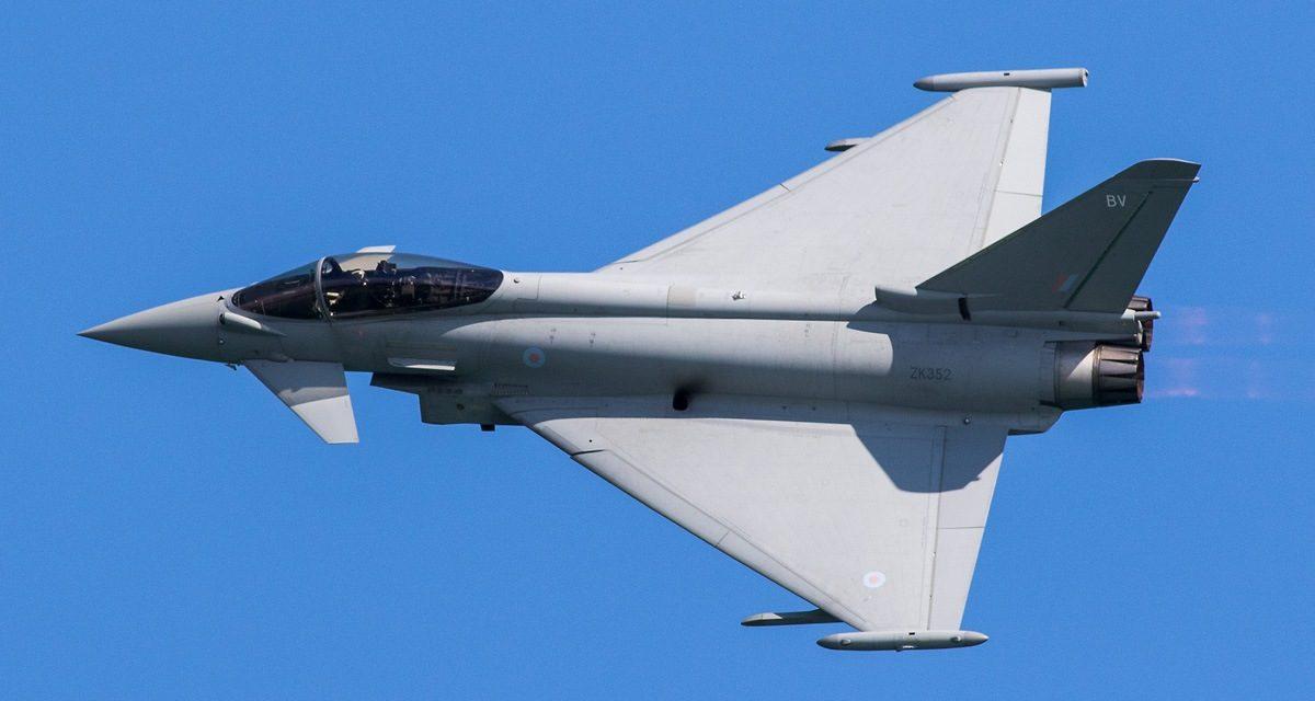 AIRSHOW NEWS: RAF Typhoon Display Team Display Dates 2017