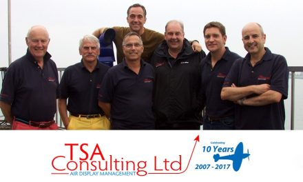 AIRSHOW NEWS: 10 Years of TSA Consulting Ltd