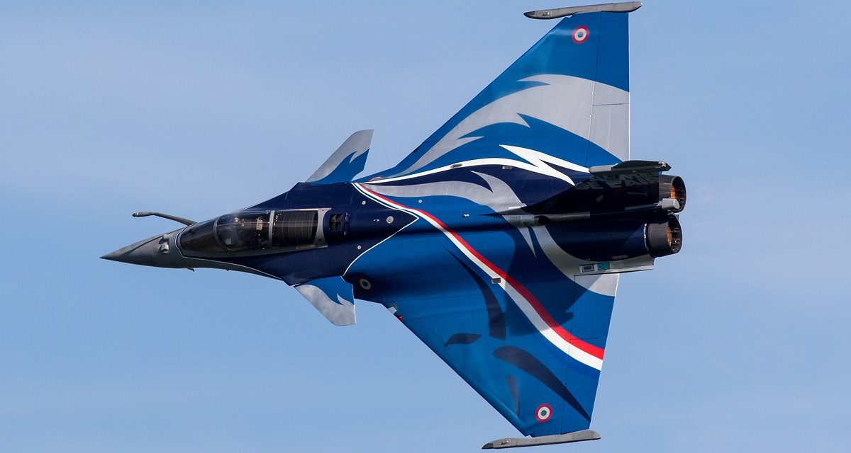 AIRSHOW NEWS: French Air Force Dassault Rafale solo Display Dates 2018