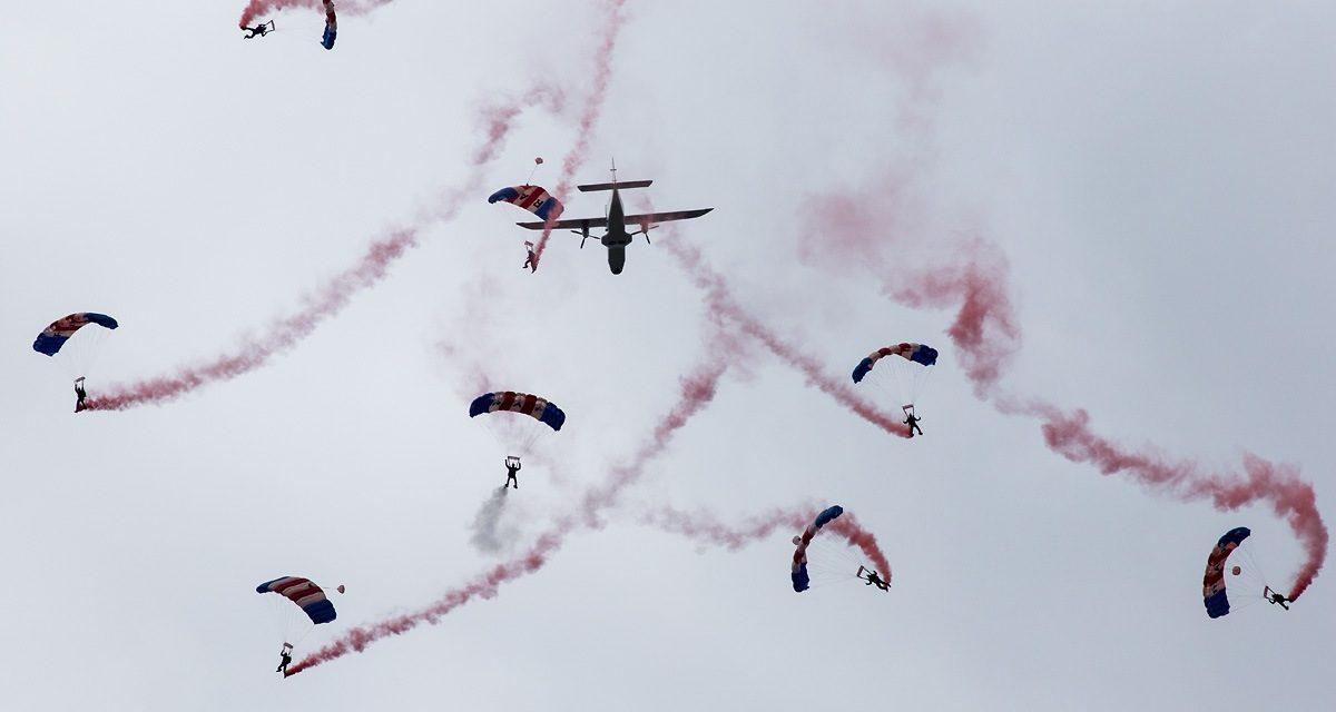 AIRSHOW NEWS: RAF Falcons Parachute Display Team Display Dates 2018