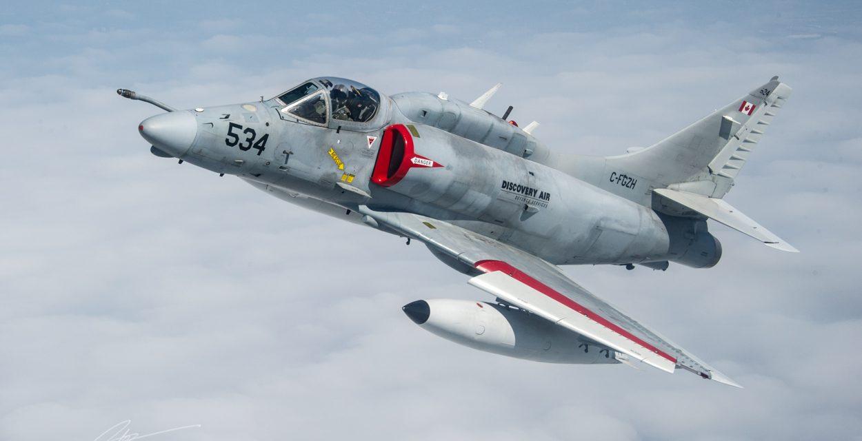 AIRSHOW NEWS: Skyhawk makes long awaited return to Air Tattoo