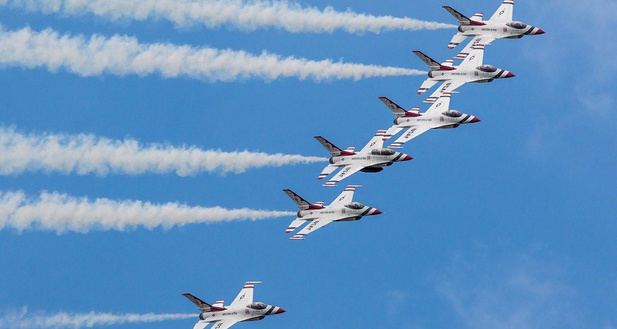 AIRSHOW NEWS: USAF Thunderbirds Display Dates 2019