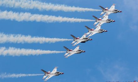 AIRSHOW NEWS: USAF Thunderbirds Display Dates 2019