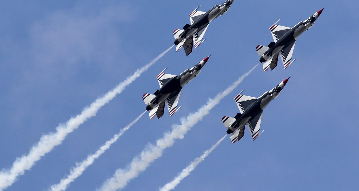 AIRSHOW NEWS: USAF Thunderbirds Display Schedule 2020