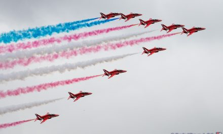AIRSHOW NEWS: RAF Red Arrows release more detail on their 2019 North American Tour, Exercise Western Hawk'19
