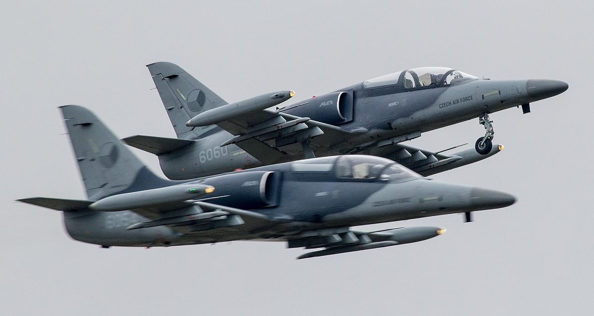 AIRSHOW NEWS: The Czech Air Force certifies two new L-159 ALCA Display Pilots