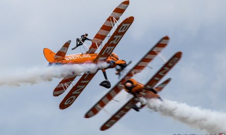 AIRSHOW NEWS: Wingwalkers set to barnstorm over Great Yarmouth beach