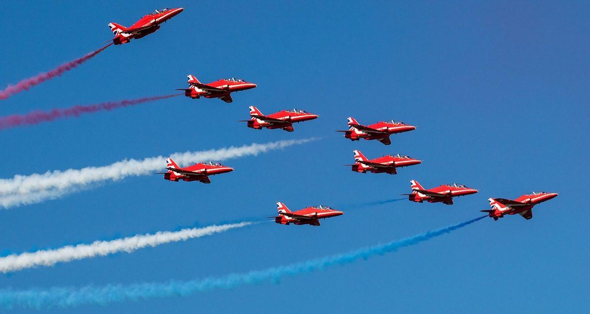 AIRSHOW NEWS: RAF Red Arrows return to Jersey International Air Display