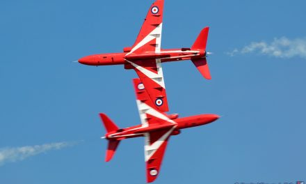 AIRSHOW NEWS: New Red Arrows Team Leader aims to 'inspire' with dynamic air display