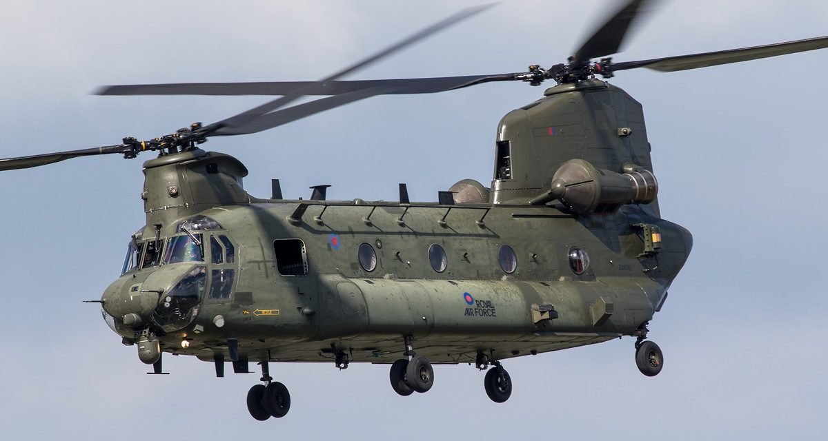 AIRSHOW NEWS: RAF Chinook Display Team Schedule 2018