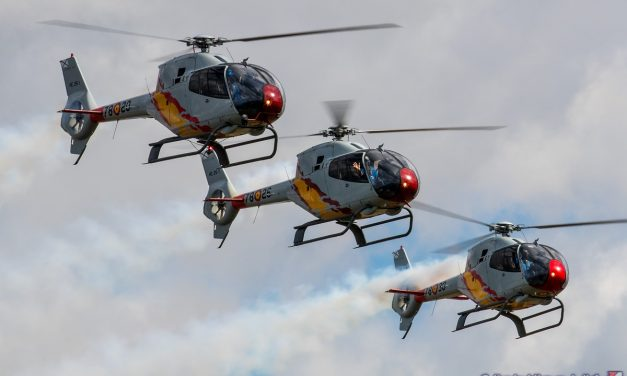AIRSHOW NEWS: Spanish Air Force Patrulla Aspa Displays 2020