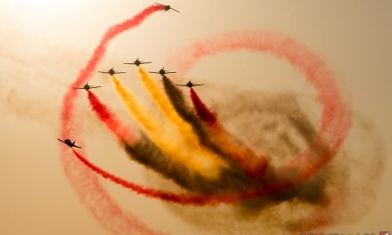AIRSHOW NEWS: Spanish Air Force suspends displays by Patrulla Aguila