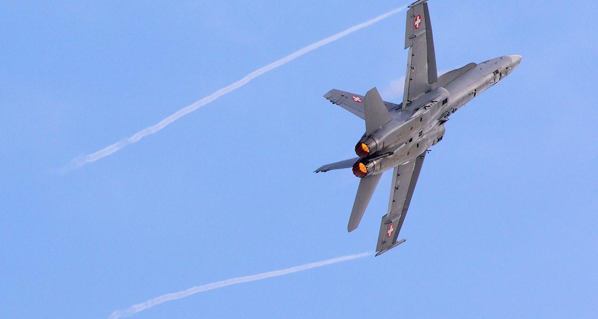 AIRSHOW NEWS: Swiss Air Force F/A-18C Hornet Display Team Dates 2018