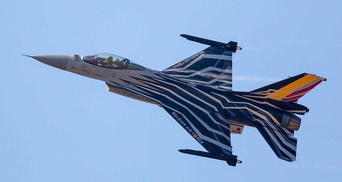 AIRSHOW NEWS: Belgian Air Force F-16 Demo Team Display Dates 2018