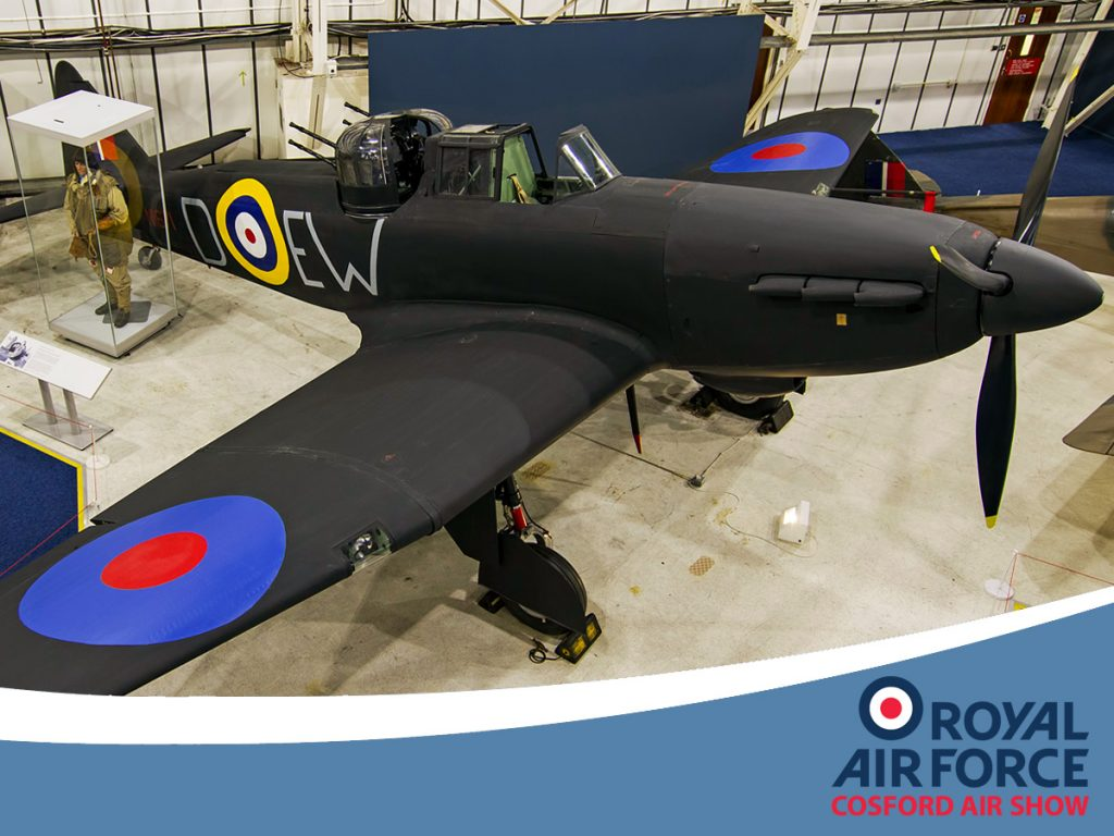 The RAF Museum's Boulton Paul Defiant 1 - image Peter Reoch