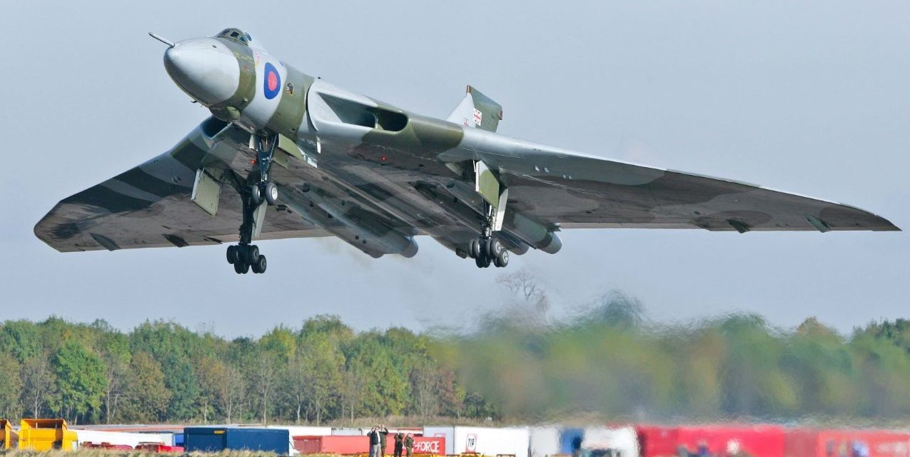 NEWS: The Vulcan to the Sky Trust (VTST) celebrates the 10th Anniversary of the triumphant return of Vulcan XH558 to flight in October 2007