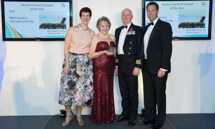 AIRSHOW NEWS: RNAS Yeovilton International Air Day wins Silver at Somerset Tourism Awards
