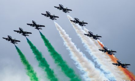 AIRSHOW NEWS: Il Frecce Tricolori Display Dates 2018