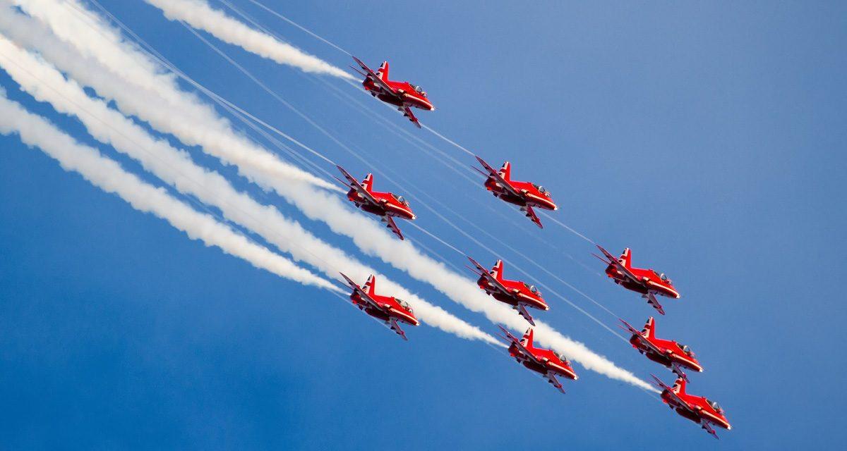 AIRSHOW NEWS: Smoke on! Red Arrows Headline RAF100 Tribute at RNAS Yeovilton International Air Day