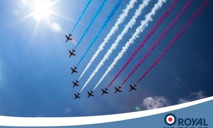AIRSHOW NEWS: Red Arrows to headline centenary celebrations at RAF Cosford Air Show