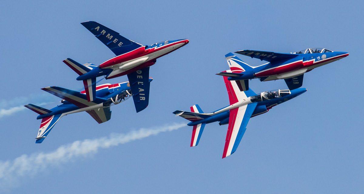 AIRSHOW NEWS: Patrouille de France International Displays 2019