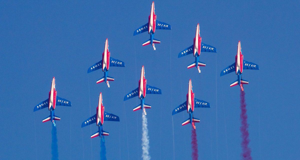 AIRSHOW NEWS: Patrouille de France Display Dates 2021