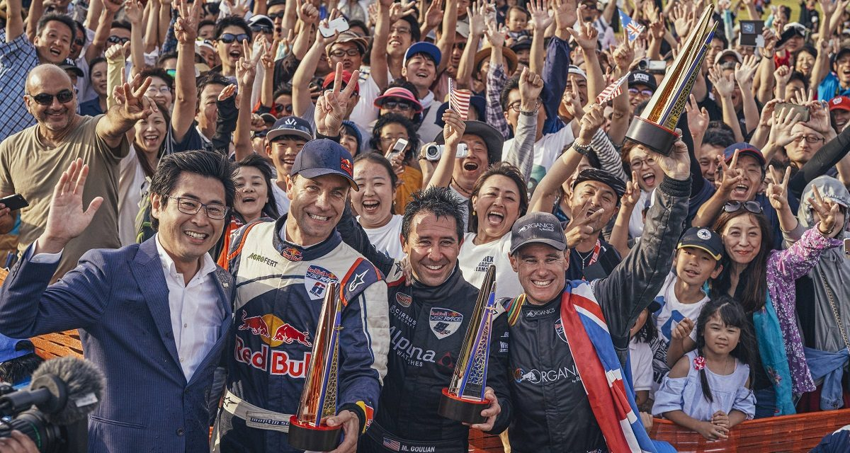 RED BULL AIR RACE: Two in a row for Australia's Hall with win in Chiba
