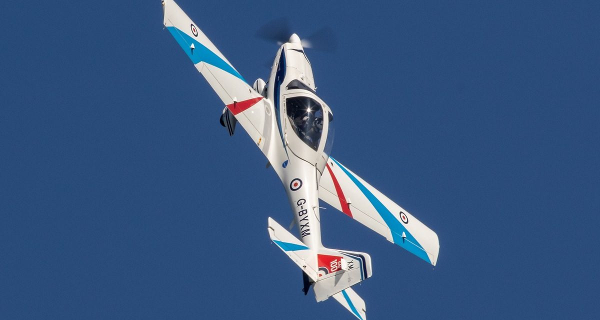 AIRSHOW NEWS: RAF Grob Tutor Display Schedule 2019