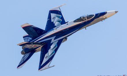 AIRSHOW NEWS: Royal Canadian Air Force CF-18 Demo Team 2020 Schedule