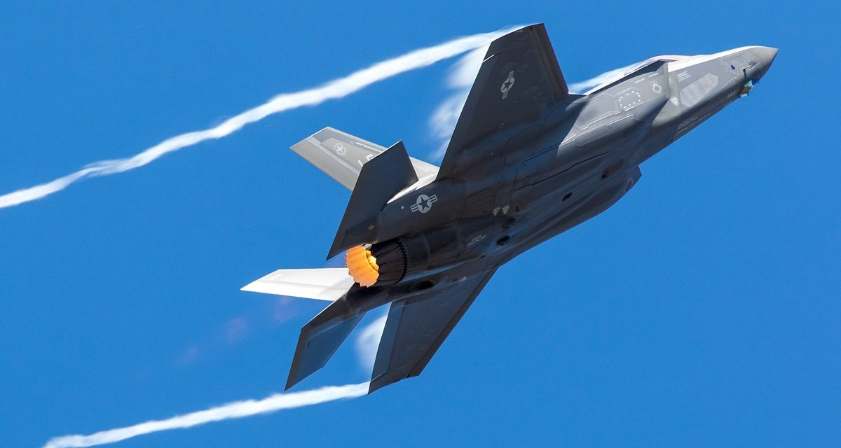 AIRSHOW NEWS: USAF F-35 HFT prepares for new demonstration profile and releases 2019 schedule