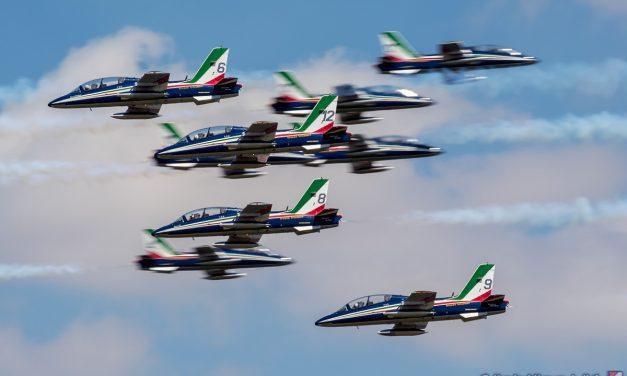 AIRSHOW NEWS: Provisional Il Frecce Tricolori Display Dates 2021