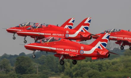 AIRSHOW NEWS: Red Arrows Pilots set to join the International Armchair Airshow