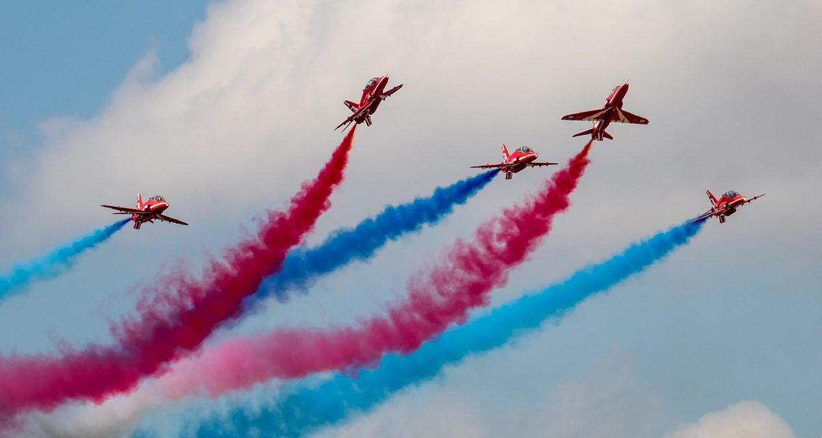 AIRSHOW NEWS: Work takes flight for Rhyl Air Show 2021 programme
