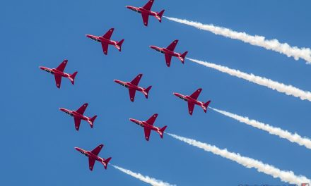 AIRSHOW NEWS: Red Arrows returning for Plymouth Armed Forces Day 2019