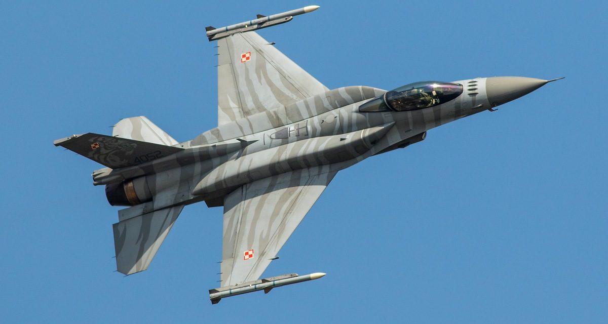 AIRSHOW NEWS: Polish Air Force F-16C 'Tiger' Demo Team 2020