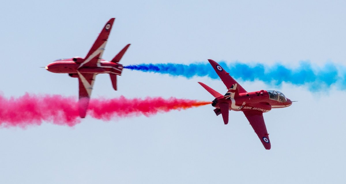 AIRSHOW NEWS: RAF Battle of Britain Memorial Flight and Stampe Display join Red Arrows for Folkestone Air Display