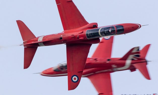 AIRSHOW NEWS: Royal Air Force Red Arrows Display Dates 2019