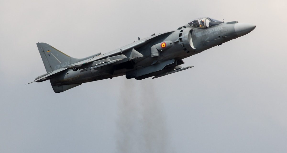 AIRSHOW NEWS: Iconic Harrier returns to Air Tattoo