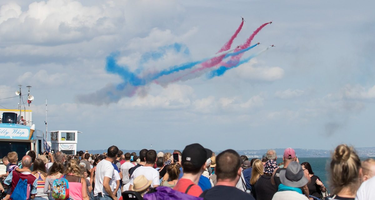 AIRSHOW NEWS: Transatlantic season gets underway for the Red Arrows