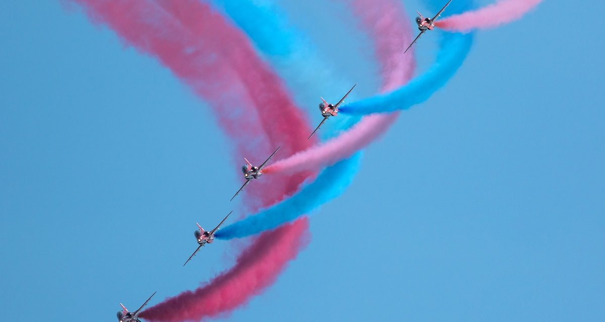 AIRSHOW NEWS: Red Arrows may visit Guernsey for one-off display in June 2019