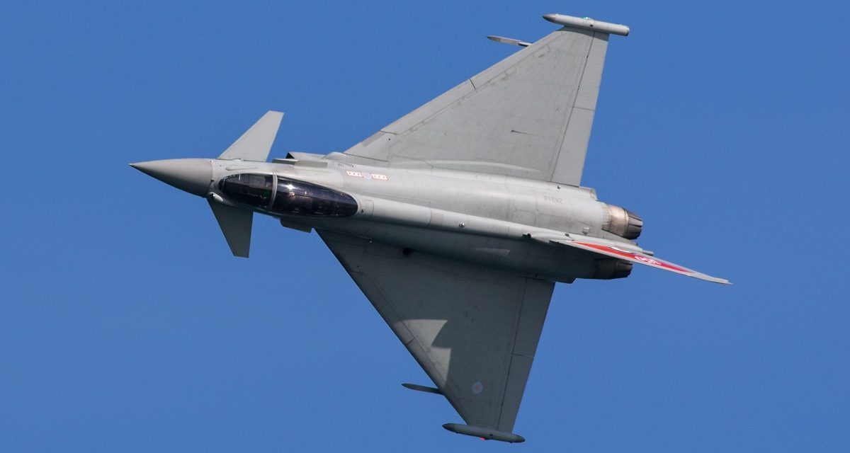 AIRSHOW NEWS: RAF Typhoon Display Team Display Dates 2019