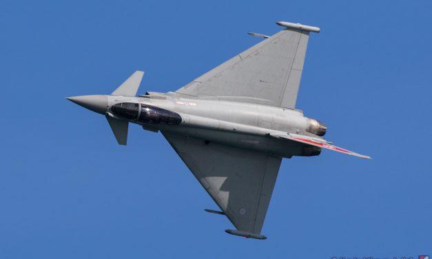 AIRSHOW NEWS: RAF Typhoon Display Team Display Dates 2019