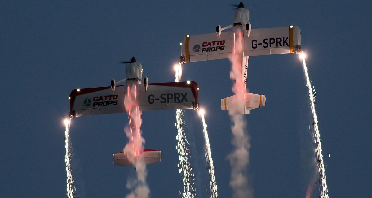 AIRSHOW NEWS: Wales Airshow introduces Evening Air Displays for Swansea50
