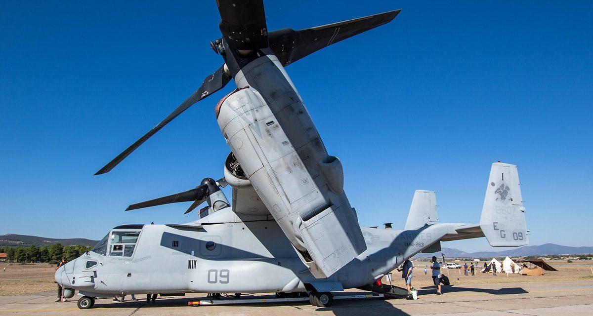 AIRSHOW NEWS: United States Marine Corps (USMC) MV-22 Osprey and AV-8B Harrier Display Dates 2019