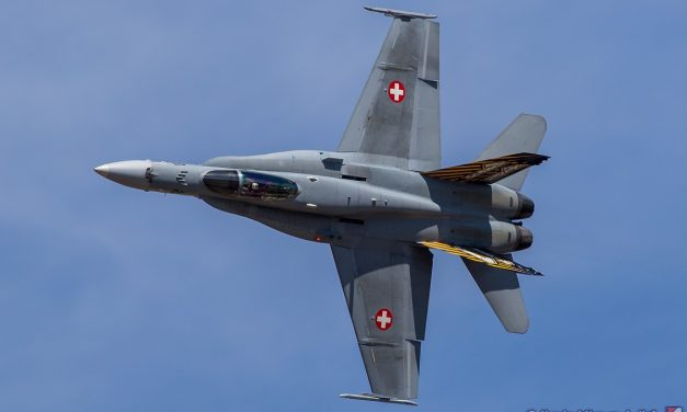 AIRSHOW NEWS: Provisional Swiss Air Force F/A-18C Hornet Solo Display Dates 2021