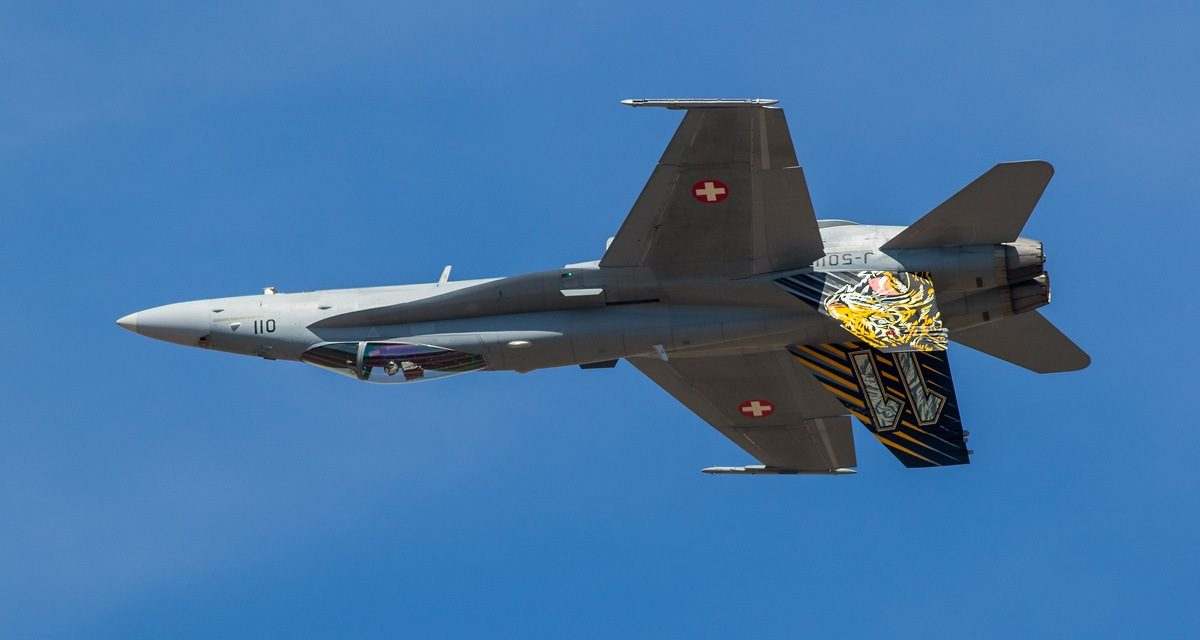 AIRSHOW NEWS: Swiss Hornet adds noise to RAF Cosford Air Show line-up