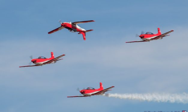 AIRSHOW NEWS: Provisional Swiss Air Force PC-7 Team Display Dates 2021